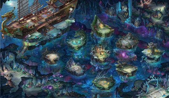 新地图覆海大殿